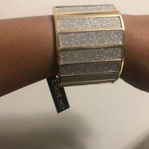 Custom made icy Bebe bracelet